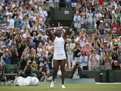 Wimbledon-Sensation: 15-jähriges Wunderkind schmeißt Venus Williams in Runde eins raus