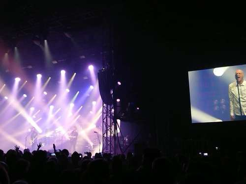 """Tollwood is a good Festival"": Midnight Oil zu Gast in München"