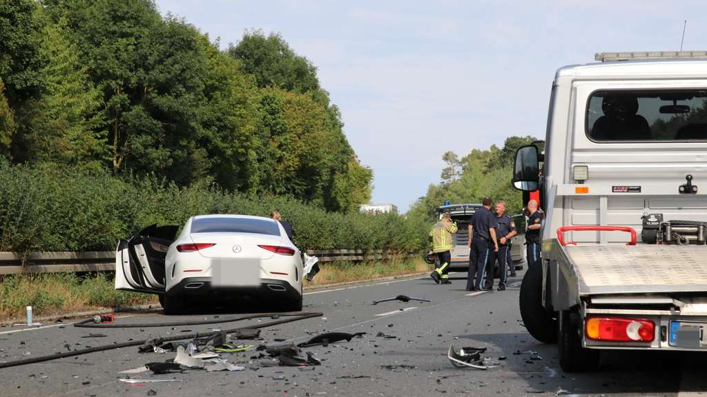 Unfall B8 Gestern