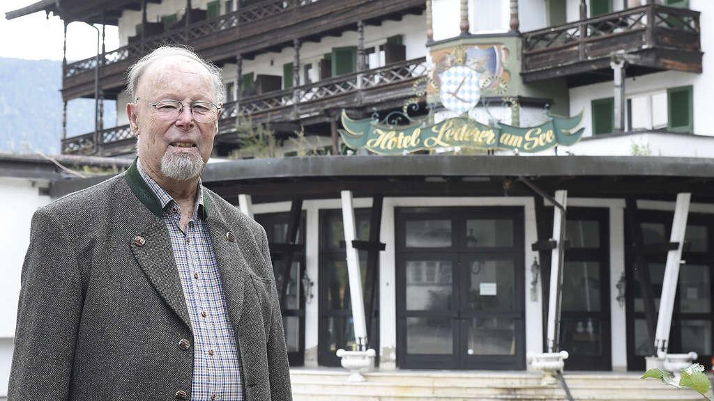 Tegernsee Josef Lederer Nach Kampf Für Sein Geisterhotel