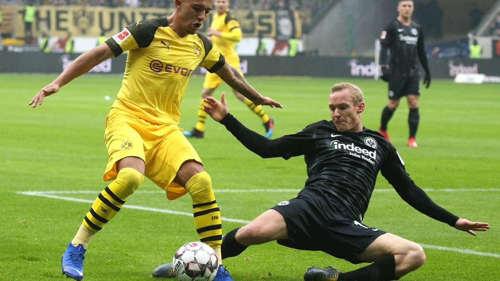 Eintracht Frankfurt Borussia Dortmund Bundesliga Heute
