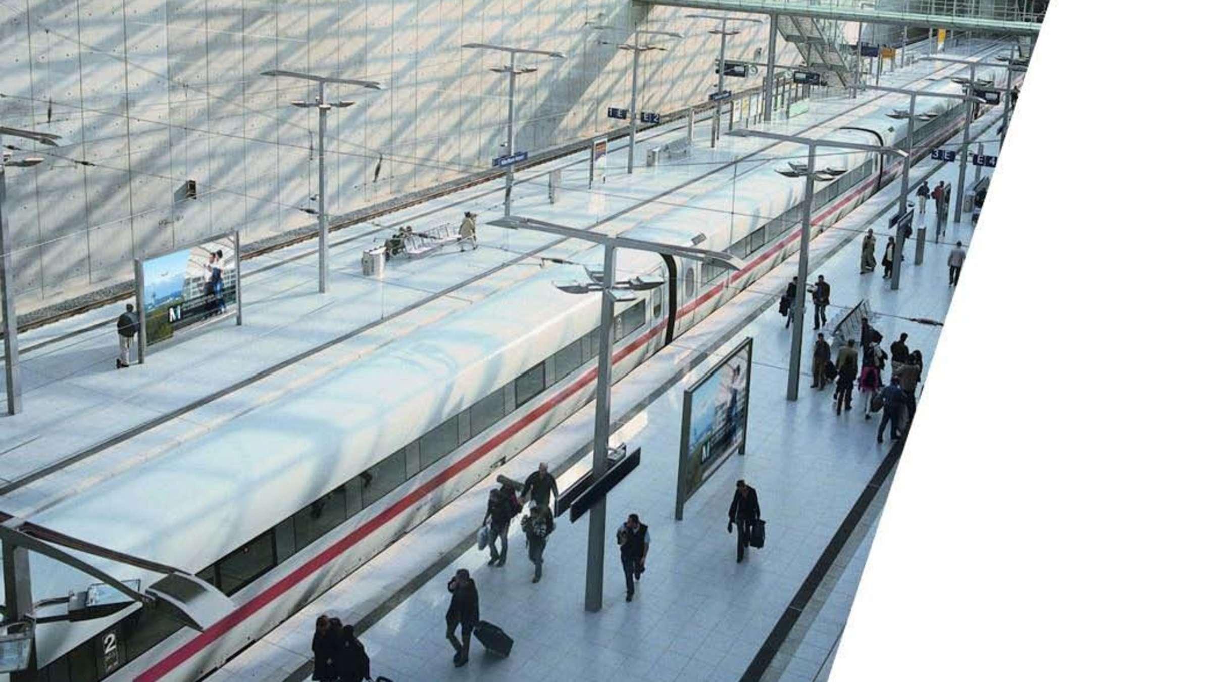 Flughafen München Ice Verbindung Geplant Das Ist Der