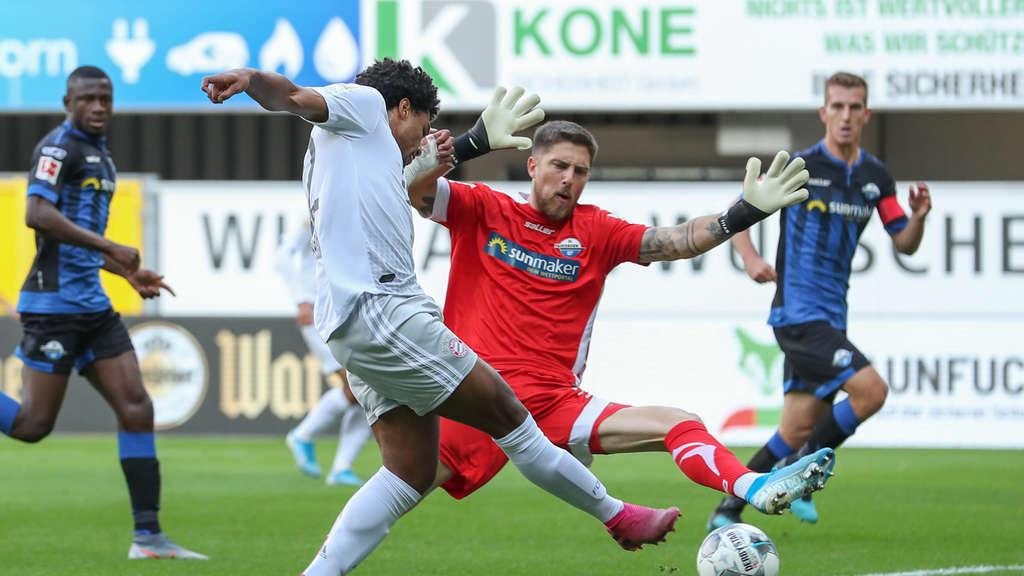 Sc Paderborn Fc Bayern Munchen So Endete Das Ungleiche