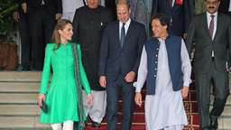 William und Kate beginnen Pakistanreise