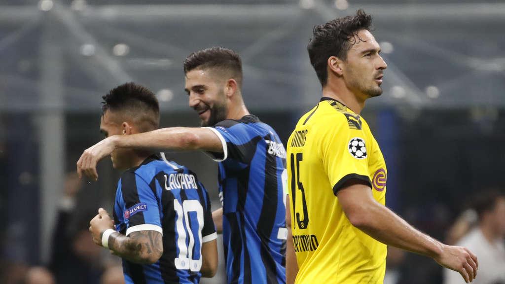 Borussia Dortmund Inter Mailand Champions League Heute