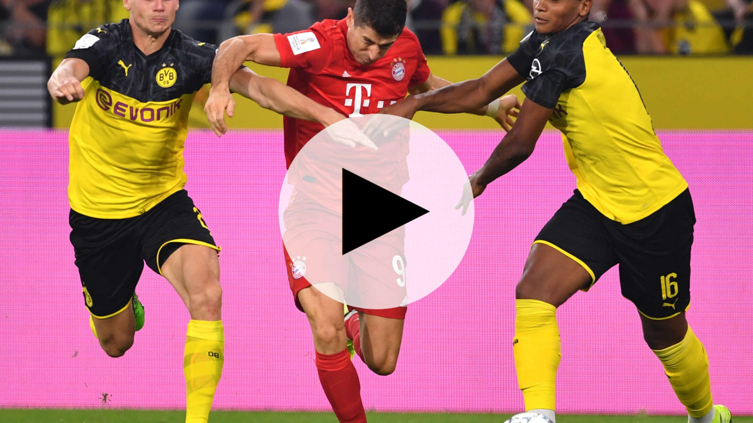 Fc Bayern Munchen Gegen Borussia Dortmund Im Live Stream Und