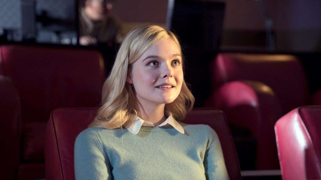 "Elle Fanning als Schwärmerin in ""A Rainy Day in New York""."