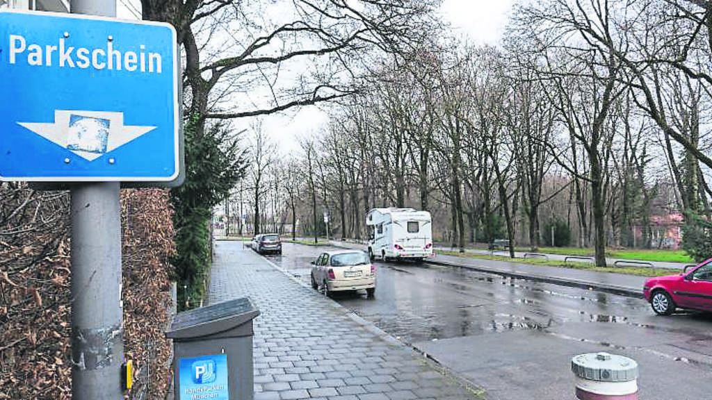 Freie Parkplätze München
