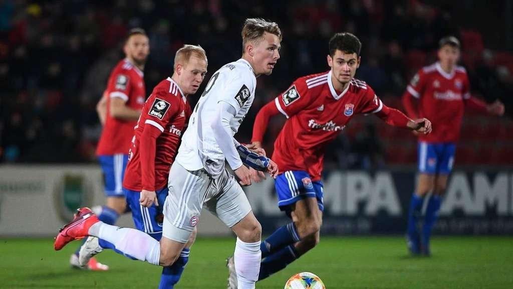 Unterhaching Gegen Bayern Ii