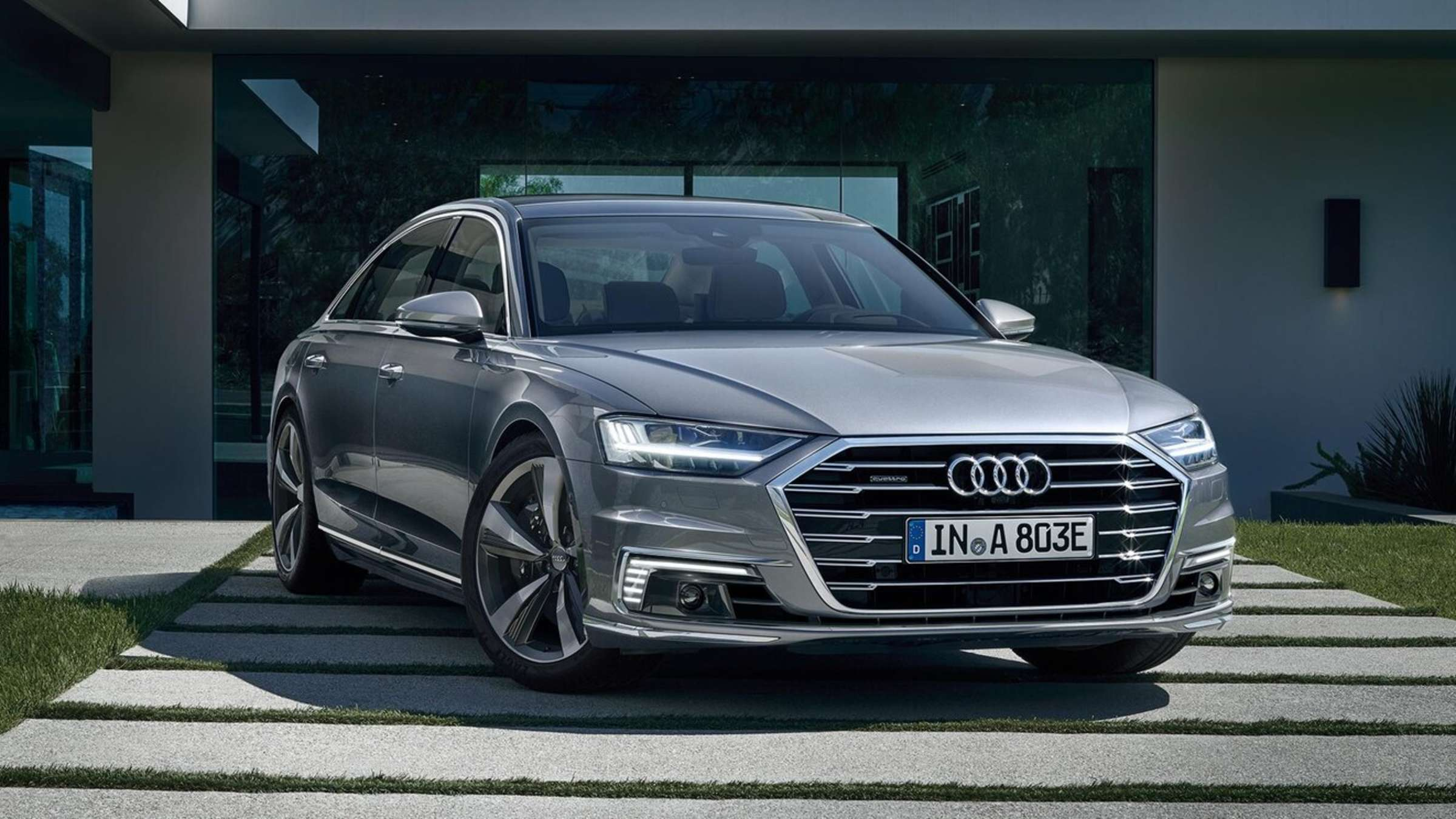 Audi A8 Exterior and Interior