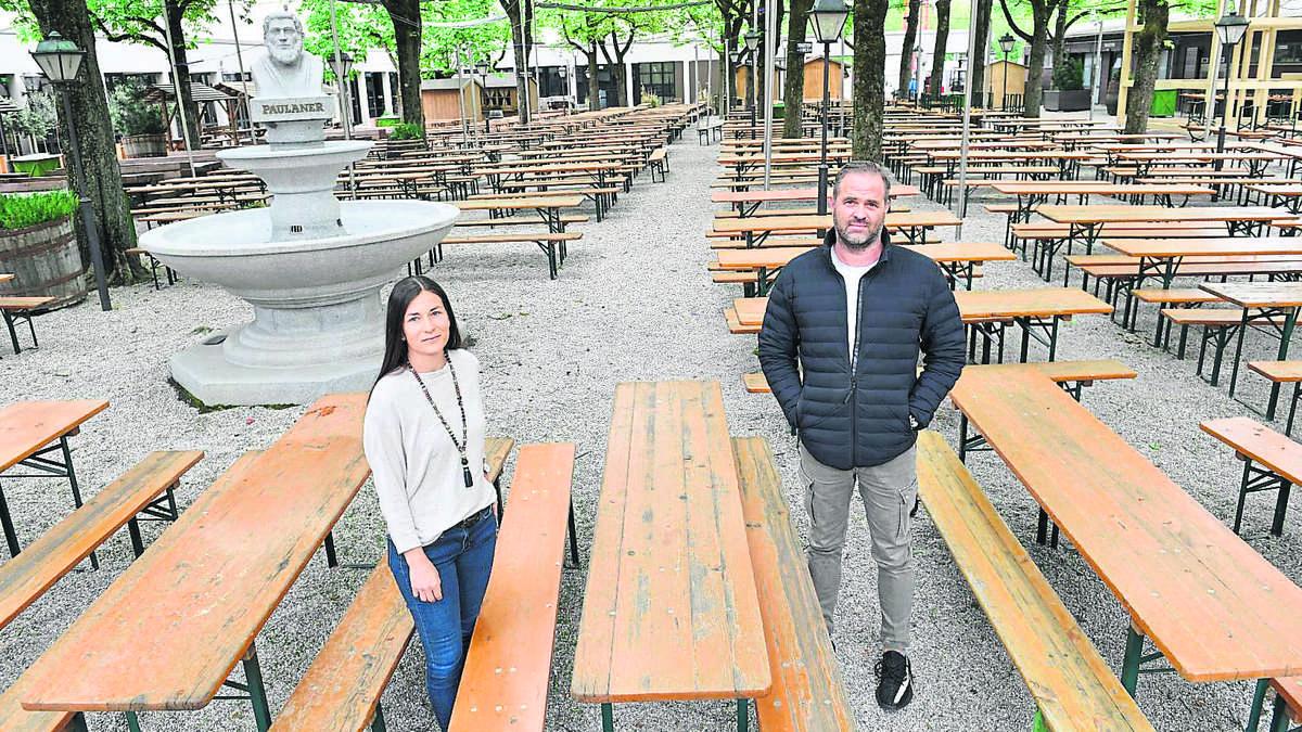 Biergarten Corona Bayern