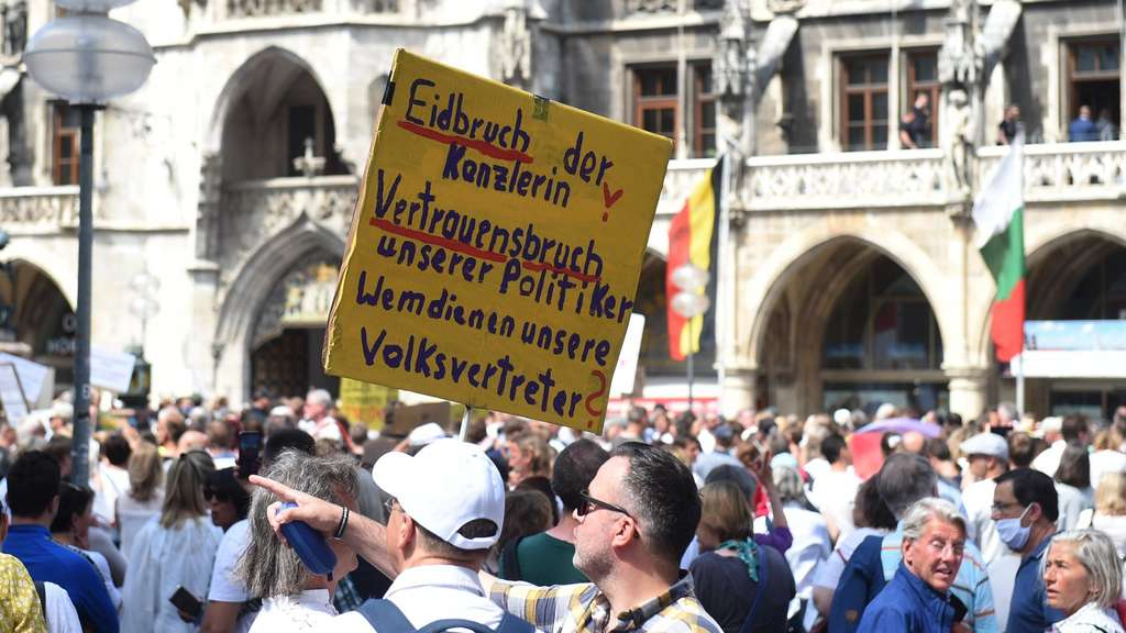 Coronavirus - Demonstration in München