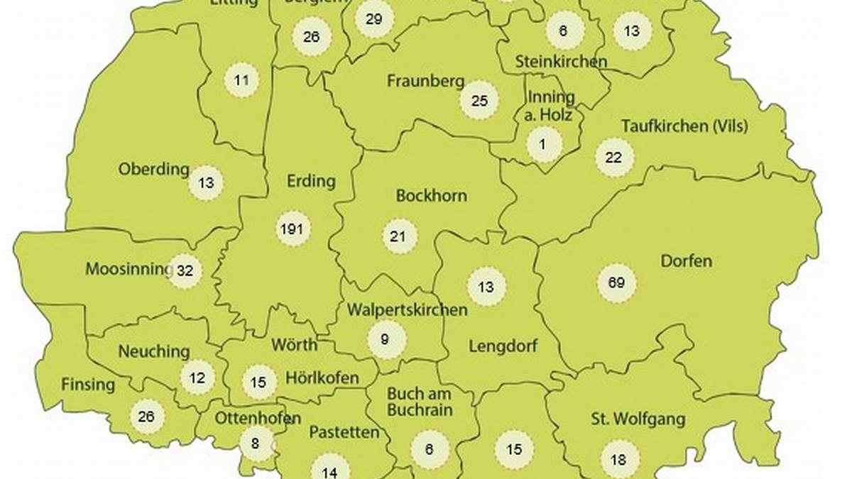 Corona Hotspots In Bayern