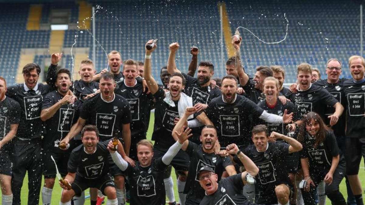 Aufstieg 3. Liga
