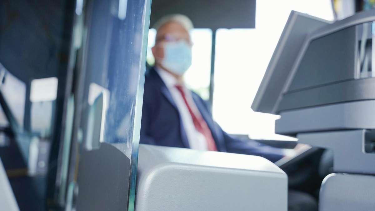 Busfahrer Maske