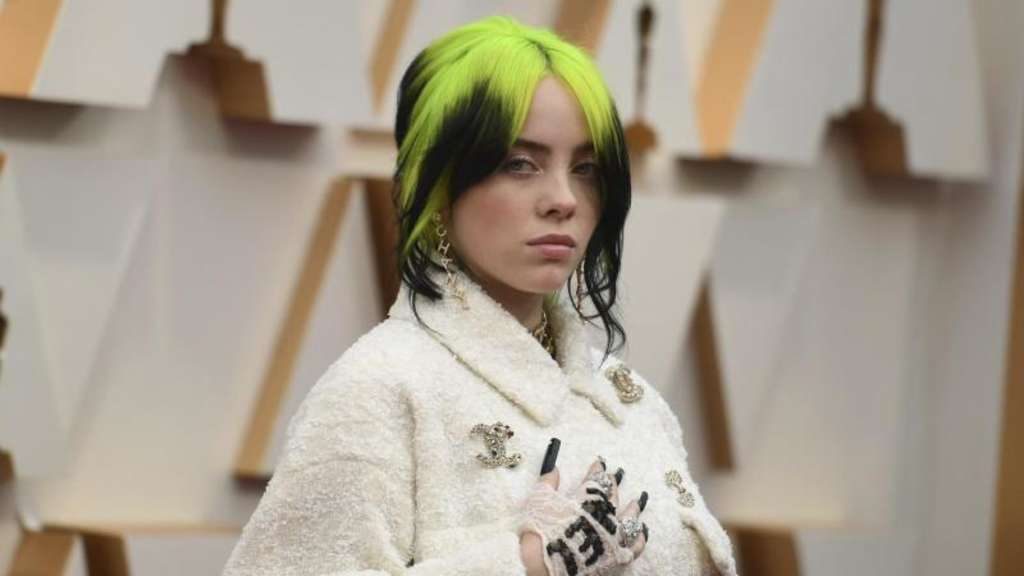 Billie Eilish hat eine Anti-Trump-Rede gehalten. Foto: Richard Shotwell/Invision/AP/dpa