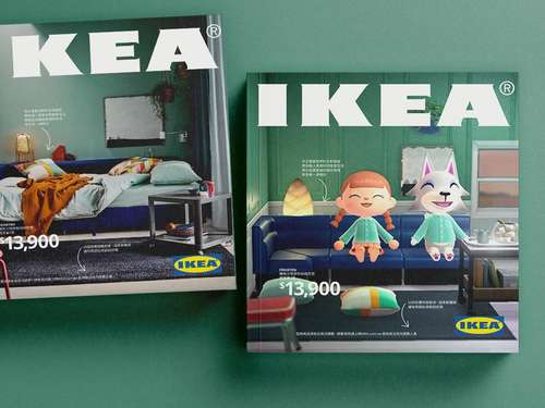 Animal Crossing New Horizons: IKEA-Katalog 2021 im Nintendo Look