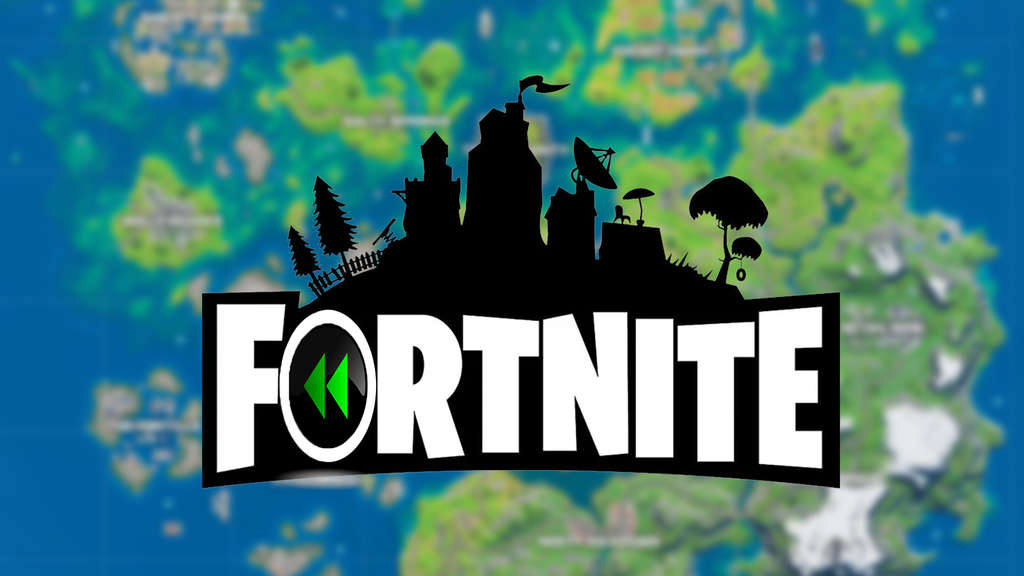 fortnite update map orte logo rewind