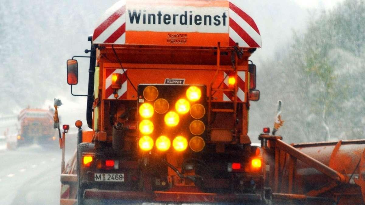 Wintereinbruch! Minus 9 Grad und sogar ein...