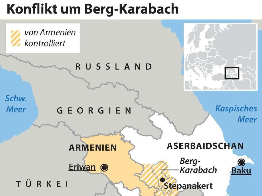 Armenien Aserbaidschan Schusswechsel Zwischen Armenien Und Aserbaidschan Greifen Turkei Und Russland Ein Politik
