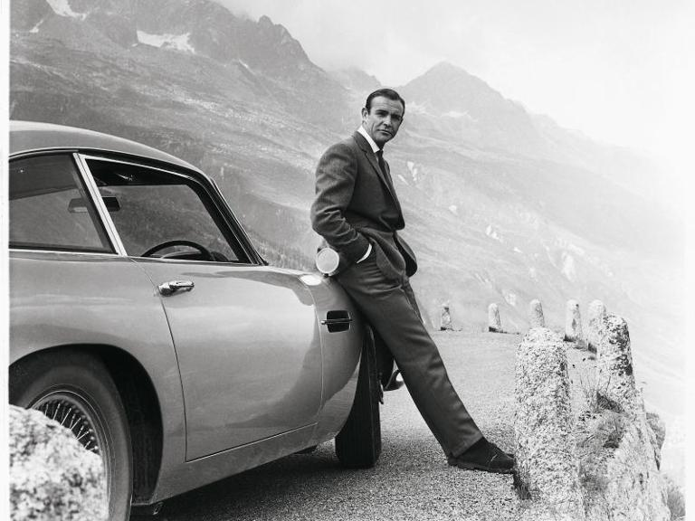 Sean Connery als James Bond