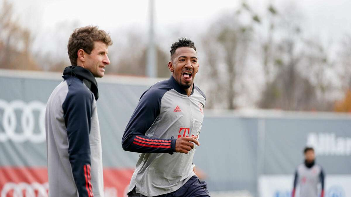 FC SALZBURG: Müller lacht über Neuer - Boatengs eiskalter...