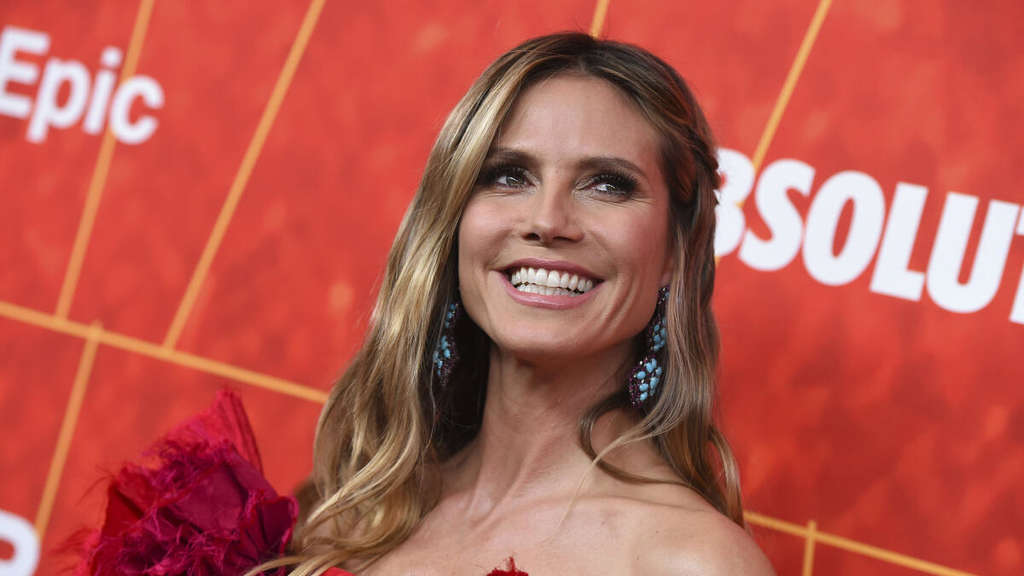 Heidi Klum, TV-Star, kommt zur amfAR Inspiration Gala Los Angeles.