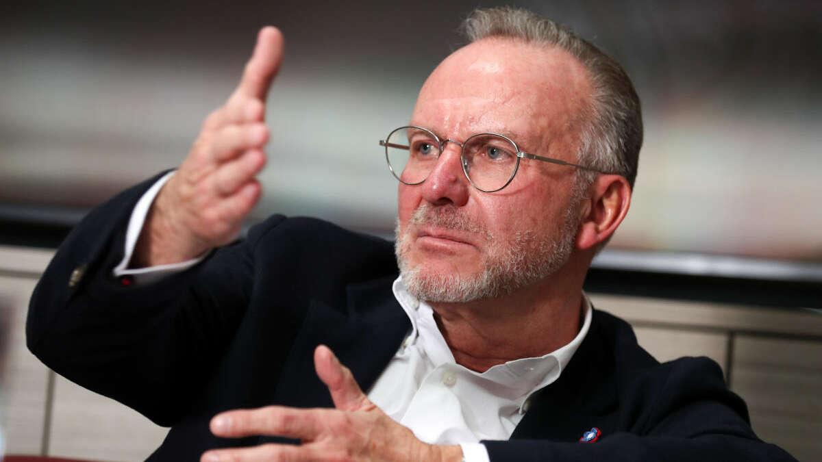 Sie können es nicht lassen! Rummenigge und Bierhoff gehen schon wieder aufeinander los - tz.de