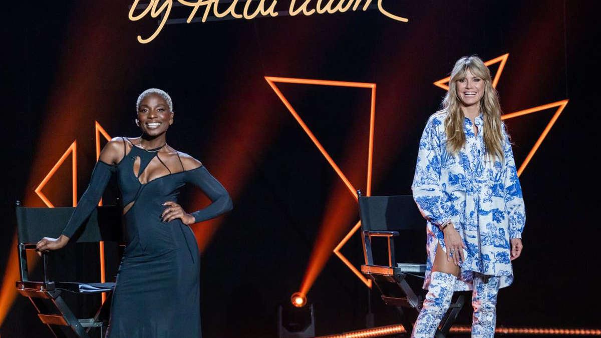 GNTM 2021 (ProSieben): Nächstes Model verlässt Heidi Klum - Modelmama ist irritiert - tz.de