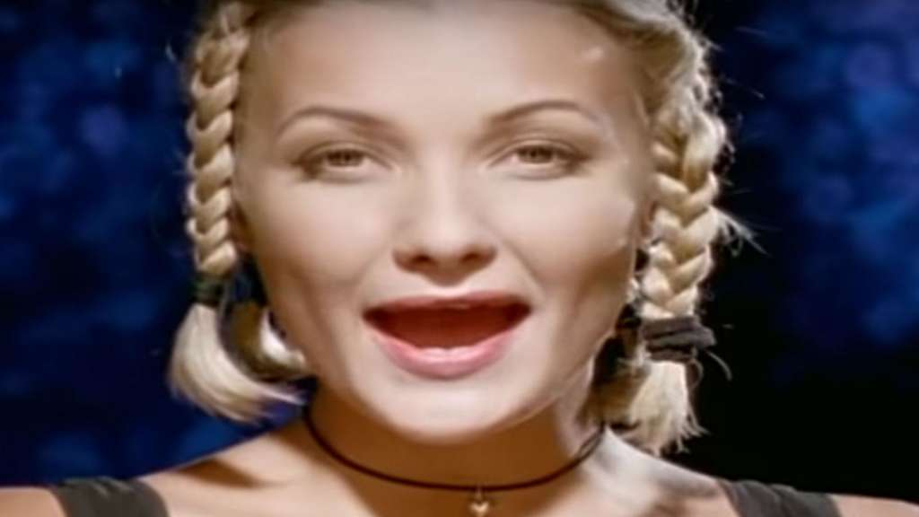 "Ein Screenshot aus dem legendären ""Saturday Night""-Video von Whigfield"