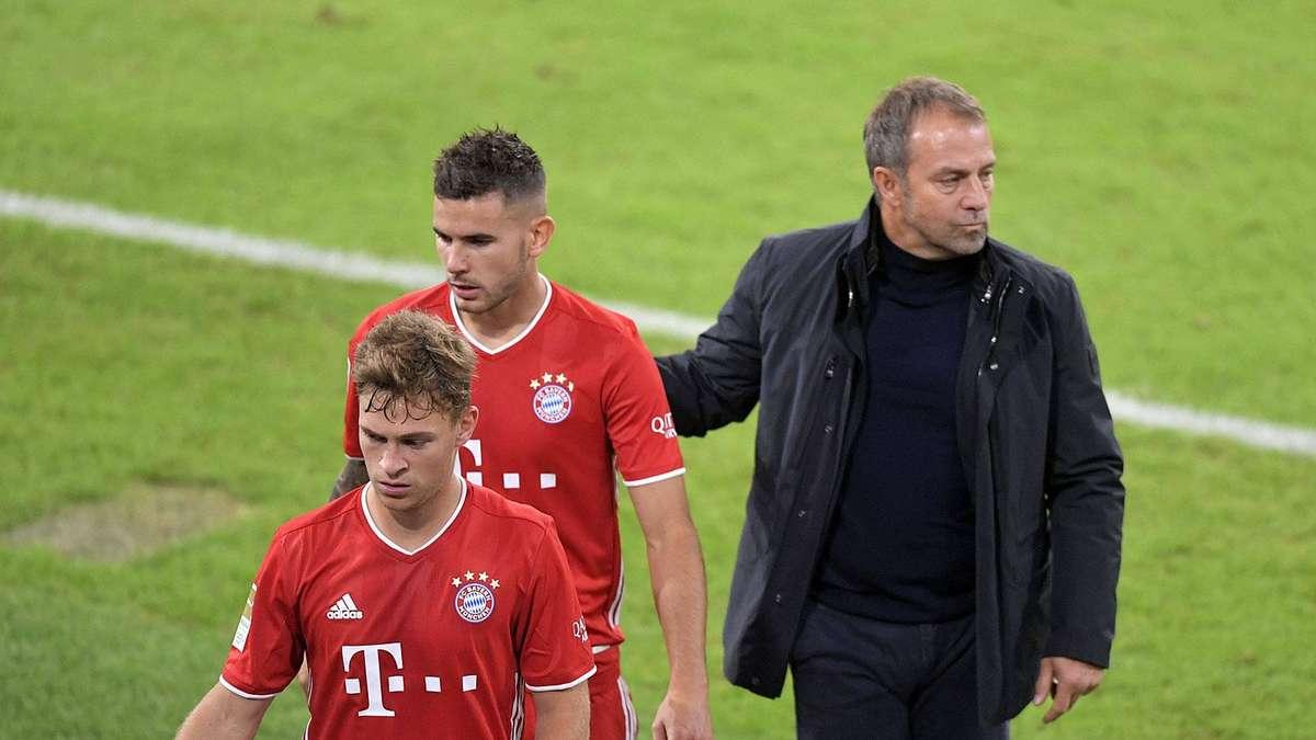 FC Bayern: Flick lässt Hernandez auf der Bank - Erstaunlich offene Worte von Müller - tz.de