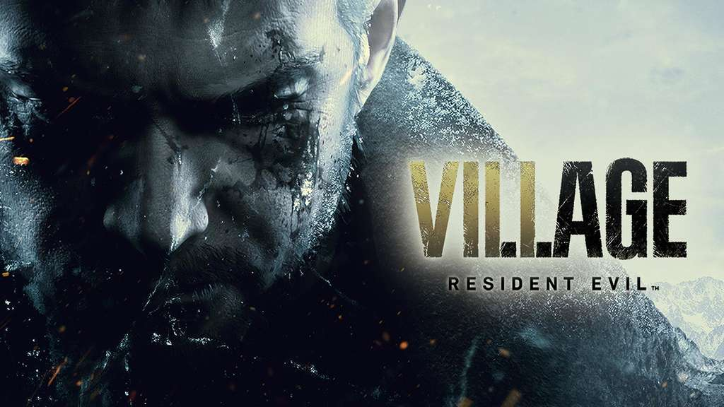 Resident Evil 8 Village Logo Chris Redfield