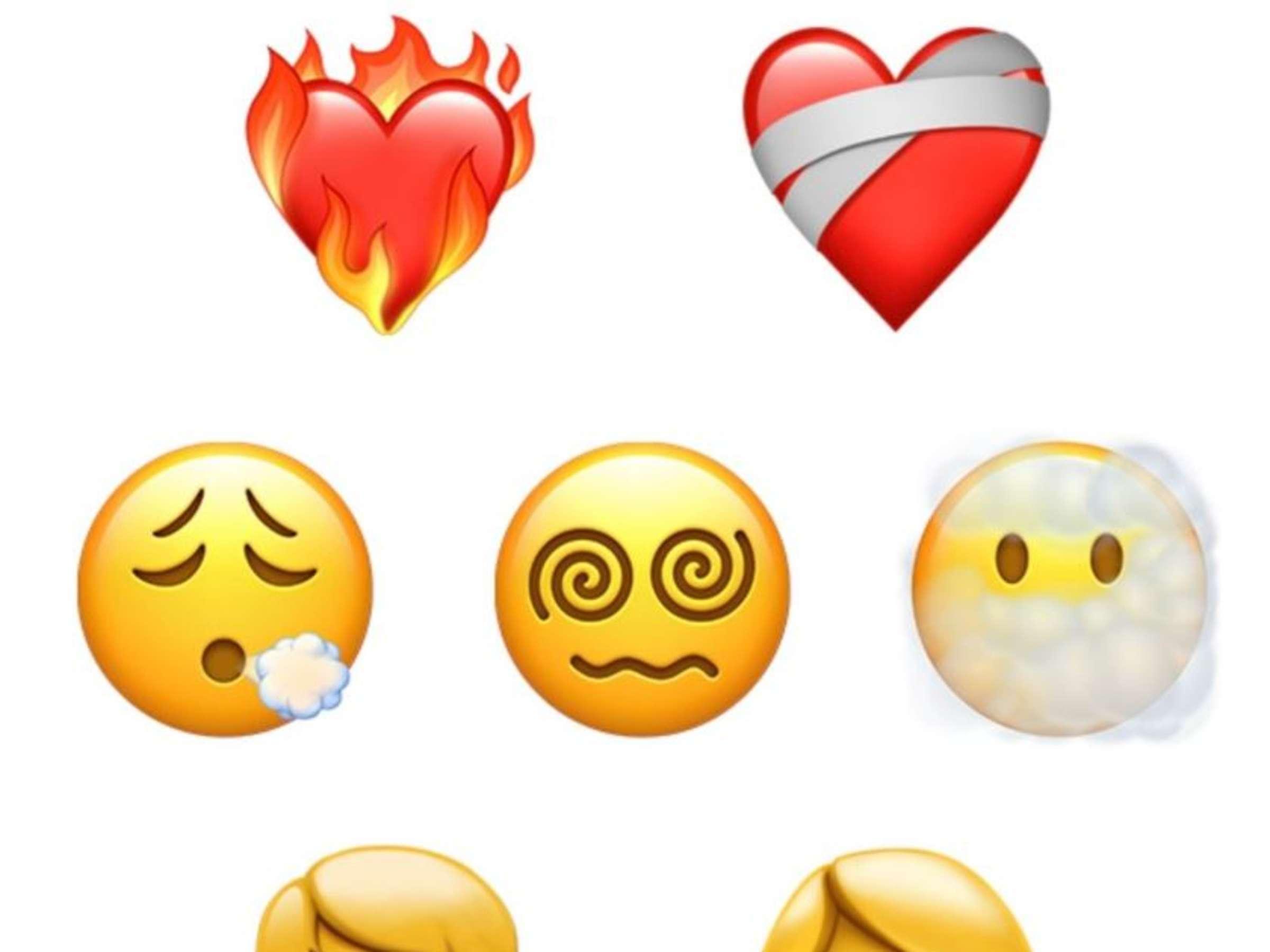 Herzen emojis mit 🥰 Smiling