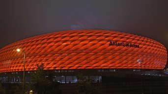 """""""Allianz Arena"""" heißt ab sofort anders - Schriftzug wurde schon abmontiert"""