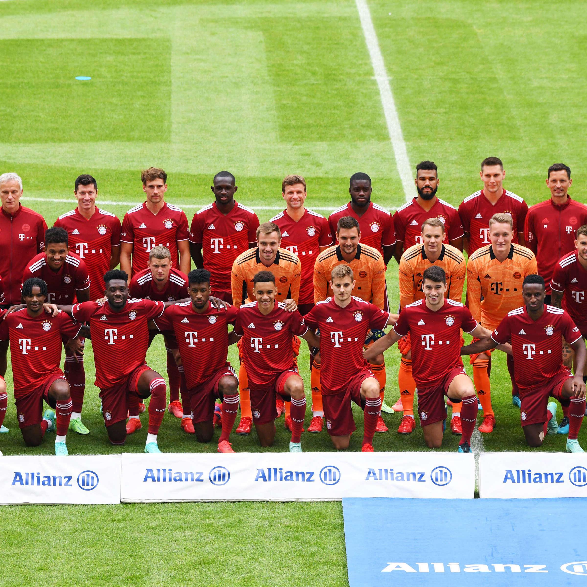 FC Bayern München Der Kader 20/20 – alle Spieler, Neuzugänge ...